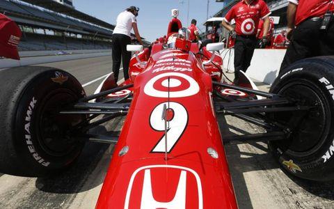 2012 IndyCar practice at Indianapolis: Scott Dixon
