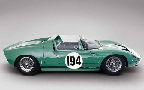 Bob Bondurant piloted this GT40 at Targa Florio.