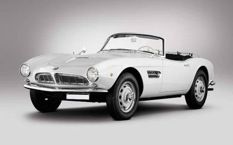This 1957 BMW 507 is one of 251 copies of its kind.
