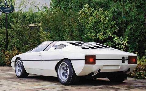 The 1974 Lamborghini Bravo--one of our favorites.