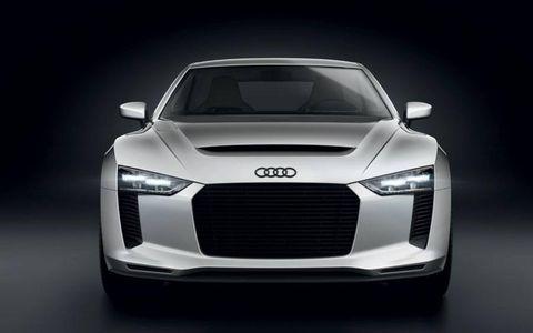 Automotive design, Grille, Car, Automotive lighting, White, Personal luxury car, Luxury vehicle, Bumper, Hood, Sports car,