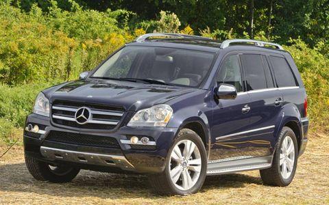 Driver's Log Gallery: 2010 Mercedes-Benz GL350 BlueTec