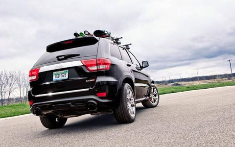 The Jeep's chassis also gets the SRT treatment that effectively turns the Grand Cher-okee from capable mountain goat into a taut and muscular mountain lion.