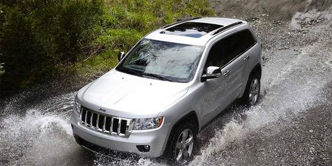 This new Jeep boasts four-wheel and two-wheel options, as well as a choice of a 290-hp V6 or the Hemi V8.