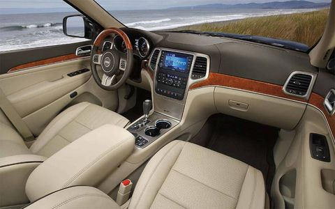 The interior has been redone with luxury in mind.