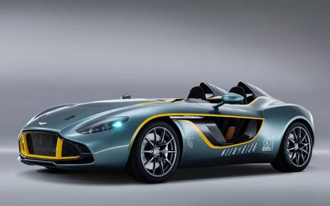 The Aston Martin CC100 debuted at the 24 Hours of Nurburgring