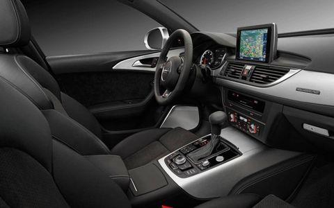2012 Audi A6 Avant interior.