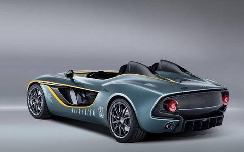 The CC100 celebrates Aston Martin's 100 years.