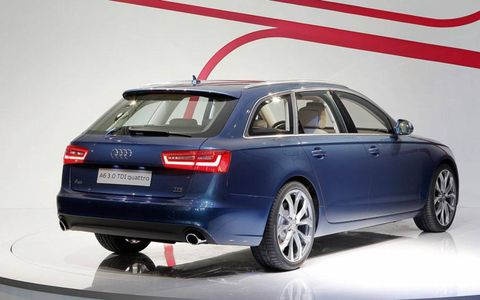 2012 Audi A6 Avant launch event.