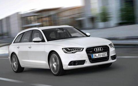 2012 Audi A6 Avant.