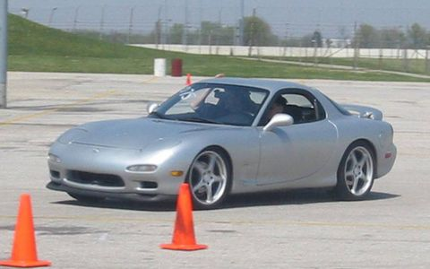 Jonathan Wong's 1994 RX-7 doing what it does best.