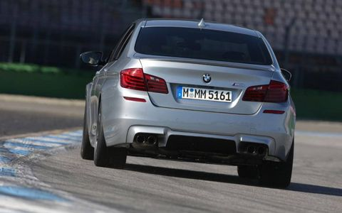The M5 gets an active rear differential.