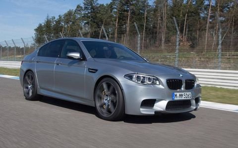 The BMW M5 gets a 560-hp V8.