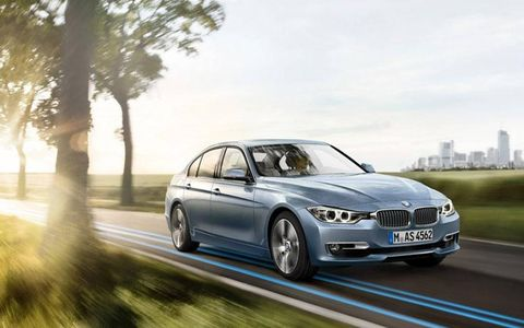 This BMW comes equipped with a hybrid 3.0 liter Turbocharged I6 mated to an eight-speed auto