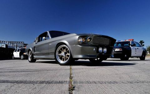 The Mustang from 'Gone in 60 Seconds' sold for $1 million at a Mecum Auction.