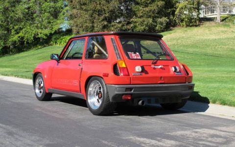 The Renault R5 Turbo 2 isn't the prettiest hatchback from the '70s and '80s.
