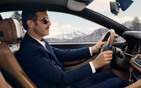 Mr. Gran Lusso dons his sunglasses and heads off into the world feeling assured.