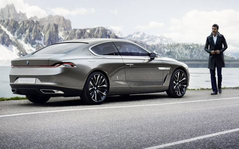 Mr. Gran Lusso loses his nerve and stops by a lake to collect his thoughts. Will this be the next 8-Series? Does it matter?
