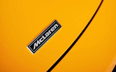Retro McLaren badge.