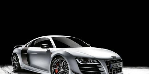 The Audi R8 GT is an amped of version of the R8 V10, coming with a 560 hp 5.2L V-10