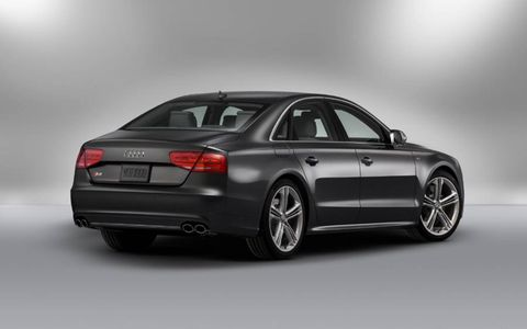 For such a large car, the 2013 Audi A8 L 4.0T handles remarkably well.