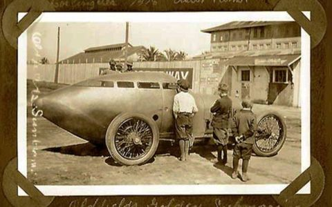The radical Golden Submarine, build in 1917, helped make Miller's name as a constructor.