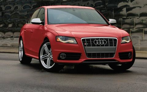 The 2012 Audi S4 is powered by a supercharged V6.