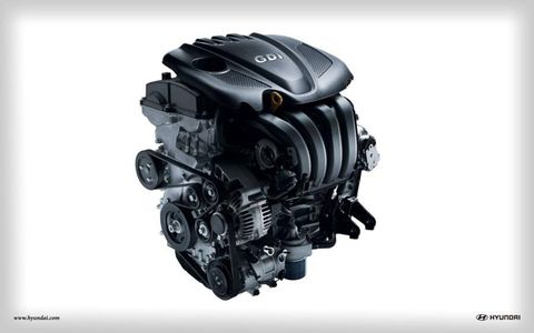 The 2.4 liter engine pumps out 198 hp mated to a six-speed automatic