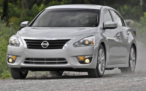 The redesigned 2013 Nissan Altima.