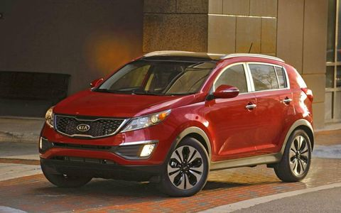 We all liked the looks of the Sportage, one of the best designs in its class
