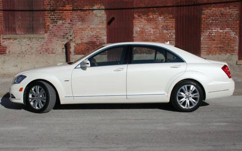 Driver's Log Gallery: 2010 Mercedes-Benz S400