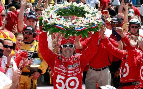 Dario Franchitti joined some select company with his third win at Indianapolis.