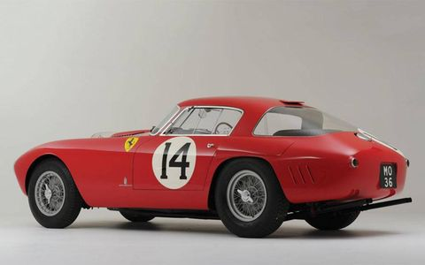 This 1953 Ferrari sold for more than $12 million at auction.