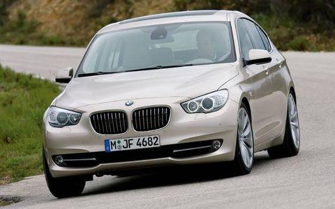 Driver's Log Gallery: 2010 BMW 550i Gran Turismo