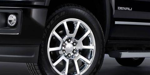 New 2014 GMC Sierra Denali pickup truck.