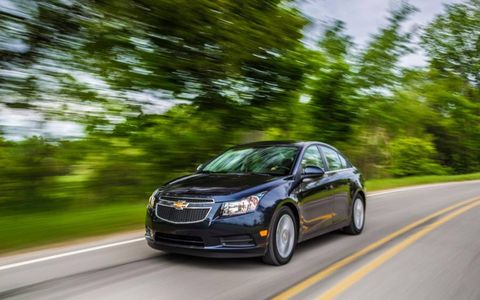The Cruze Diesel is GM's first diesel car since the 80's