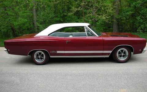This 1968 Plymouth GTX 440 is being sold with no reserve.