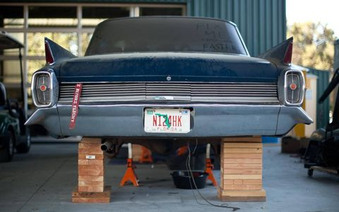 Stanford students are restoring this '62 Cadillac
