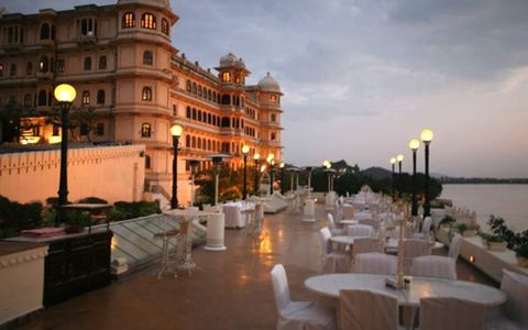 The maharajah's city palace