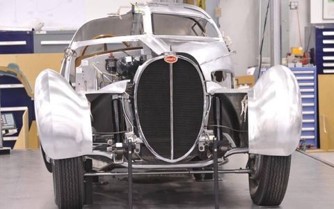 BUGATTI BUILD