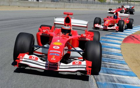 Also on hand will be a small portion of the historic Ferrari F1 cars from the Ferrari Clienti program and cars from the Ferrari Challenge Trofeo Pirelli and the Ferrari Club Challenge events.