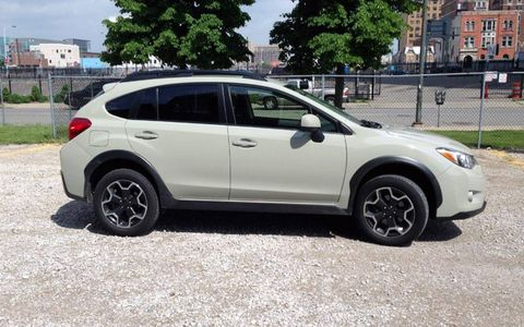 The 2013 Subaru XV Crosstrek costs about $22,000, same neighborhood as the Ford Escape, Nissan Rogue and Mitsubishi Outlander Sport.