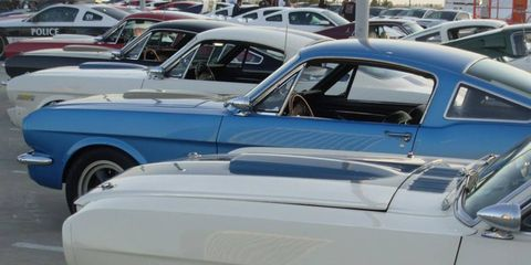 Mustangs, Cobras, GT40s and even a Series 1 made it to the Petersen Automotive Museum for the tribute to Carroll Shelby.