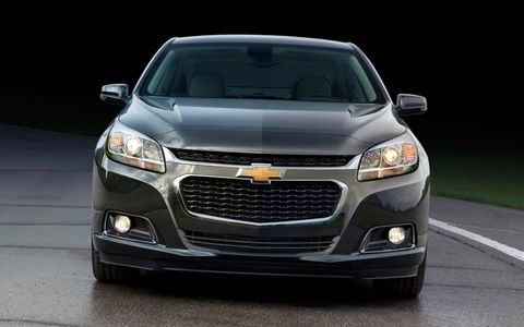 The Chevy Malibu's revised front-end is influenced by the all-new Impala.