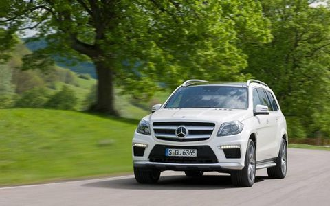 The GL63 debuts in the first quarter of 2013, capping the updated GL line that arrives in September.