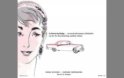 A pink-and-white coupe with Hemi engine seems like a good idea.