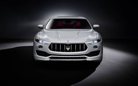 A gallery of Maserati Levante photos before the New York auto show.