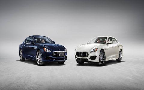 Maserati refreshed its Quattroporte sedan for 2017.