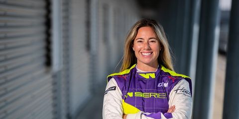 Shea Holbrook is one of just two Americans who will race this weekend at the start of the W Series season in Hockenheim, Germany.