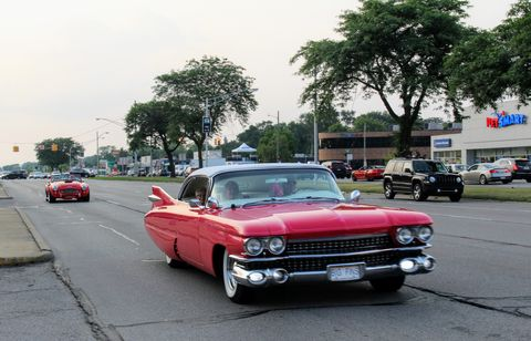 1959 Cadillac at the 2018 Woodward Dream Cruise